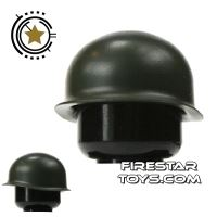 Product shot Brickarms - M1 Steel Pot Helmet - Army Green