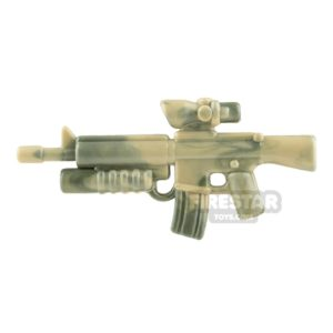 Product shot Brickarms M16-AGL Camo