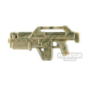 Product shot Brickarms M41A Pulse Rifle Camo