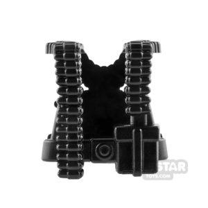 Product shot Brickarms - WW2 German Gunner - Black