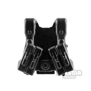 Product shot Brickarms - WW2 German Ranger - Black