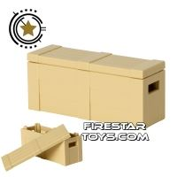 Product shot Brickarms - Weapons Crate - Tan