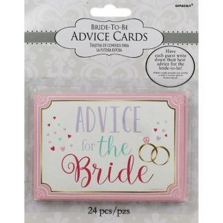 Product shot Bride To Be Advice Cards
