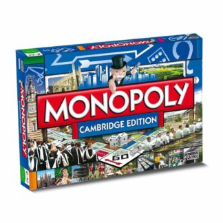 Product shot Cambridge Monopoly Board Game