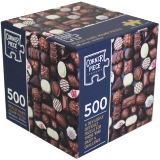 Product shot Chocolates 500 Piece Really Hard Jigsaw Puzzle