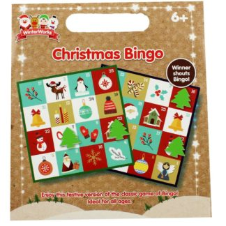Product shot Christmas Bingo Game