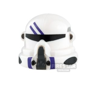 Product shot Clone Army Customs - Airborne Helmet - Purple