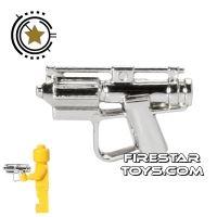 Product shot Clone Army Customs - E-5 Droid Blaster - Chrome Silver