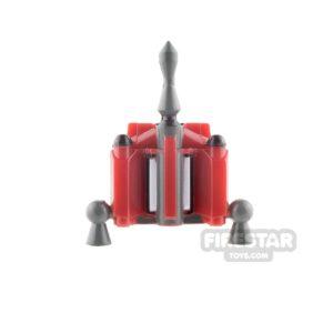 Product shot Clone Army Customs - Hunter Jet Pack - Fett Dark Red