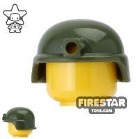 Product shot CombatBrick - Advanced Combat Helmet - Dark Green