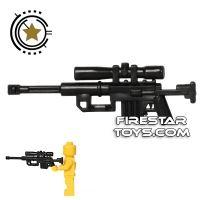 Product shot CombatBrick - Interceptor Sniper Rifle - Black