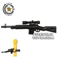 Product shot CombatBrick - M21 Sniper Rifle - Black