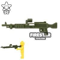 Product shot CombatBrick - M240 Machine Gun - Dark Green