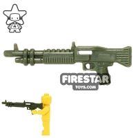 Product shot CombatBrick - M60 Machine Gun - Dark Green