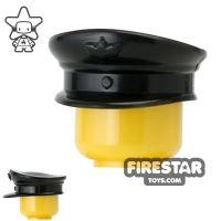Product shot CombatBrick - Officer Hat - Black