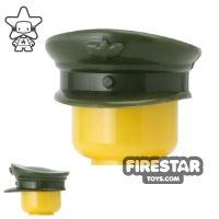 Product shot CombatBrick - Officer Hat - Dark Green