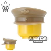 Product shot CombatBrick - Officer Hat - Dark Tan