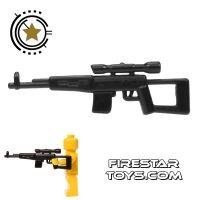 Product shot CombatBrick - SVD - Dragunov Sniper Rifle - Black