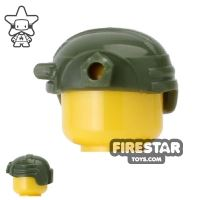 Product shot CombatBrick - Special Forces Helmet - Dark Green