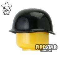 Product shot CombatBrick - US Army Soldier M1 Steel Pot Helmet - Black