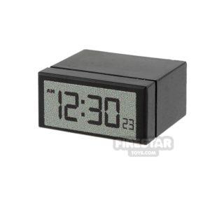 Product shot Custom Design - Alarm Clock - Black