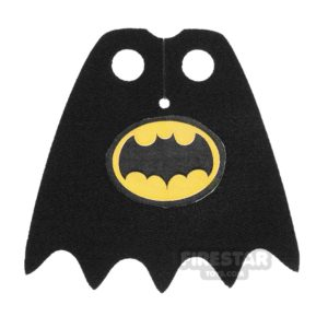 Product shot Custom Design Cape - Batman - 1966 Logo