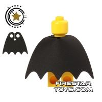 Product shot Custom Design Cape - Batman - Black