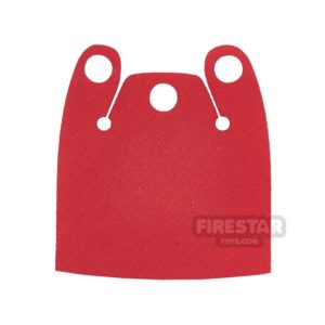 Product shot Custom Design Cape - Batman Cloak - Plain Overshoulder - Bright Red