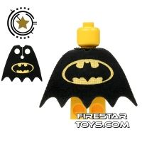Product shot Custom Design Cape - Batman Logo - Yellow