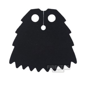 Product shot Custom Design Cape - Chima Jagged Cape - Black