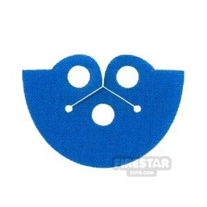 Product shot Custom Design Cape - Dress Coat Topper - Blue