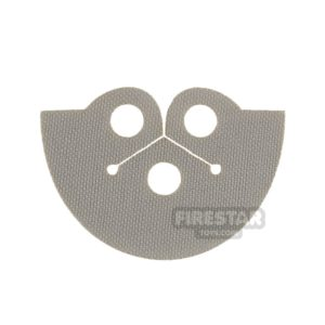 Product shot Custom Design Cape - Dress Coat Topper - Light Gray