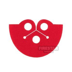 Product shot Custom Design Cape - Dress Coat Topper - Red