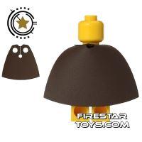 Product shot Custom Design Cape - Short - Dark Brown
