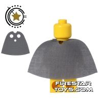 Product shot Custom Design Cape - Short - Dark Gray