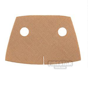 Product shot Custom Design Cape - Short Trenchcoat - Tan