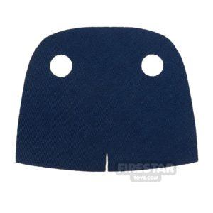 Product shot Custom Design Cape - Trenchcoat - Round Collar - Dark Blue
