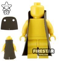 Product shot Custom Design Cape - Trenchcoat - Round Collar - Dark Brown