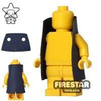Product shot Custom Design Cape - Trenchcoat - Square Collar - Dark Blue