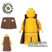 Product shot Custom Design Cape - Trenchcoat - Square Collar - Reddish Brown