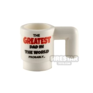 Product shot Custom Design Cup Greatest Dad