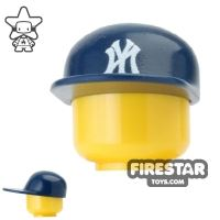 Product shot Custom Design Headgear - New York Cap - Dark Blue
