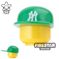Product shot Custom Design Headgear - New York Cap - Green