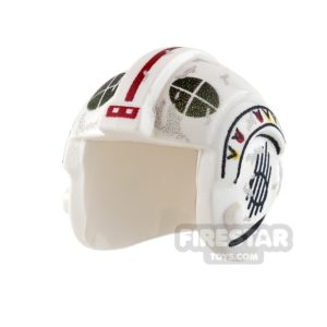 Product shot Custom Design Headgear SW Rebel Pilot Helmet Davish Krail