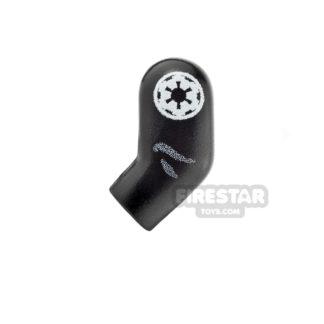 Product shot Custom Design Left Arm - SW Imperial Worker - Black