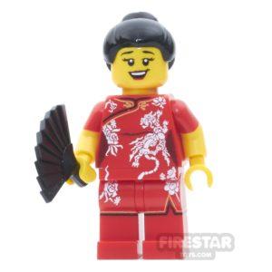 Product shot Custom Design Mini Figure - Chinese New Year - Reveler