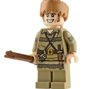 Product shot Custom Design Mini Figure - Davy Crockett