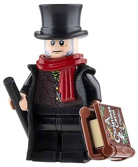 Product shot Custom Design Mini Figure - Ebenezer Scrooge