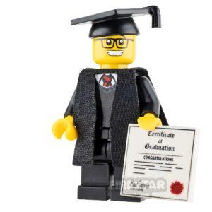 Product shot Custom Design Mini Figure - Graduate - Male