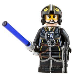 Product shot Custom Design Mini Figure - SW - Lonesome Pilot